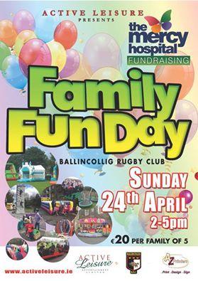 Family Fun Day Ballincollig. Sunday 24th April 2016
