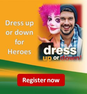 Dress Up or Down for Heroes