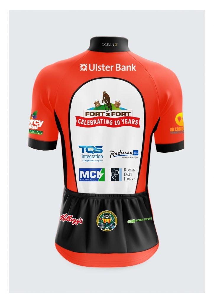Fort2Fort 10 year commemorative Jersey
