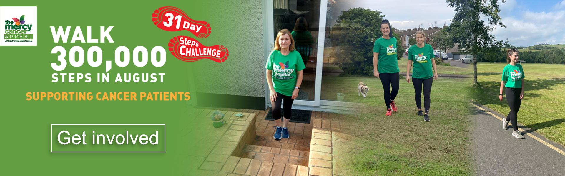 300,000 Steps Challenge August